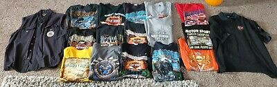 $ CDN384.50 • Buy HUGE RARE 17 VINTAGE Harley Davidson Mens Graphic T Shirts XXL 2XL Shirt LOT