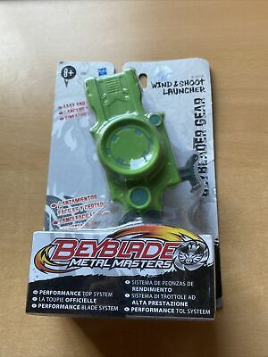 £6.75 • Buy Beyblade Metal Masters Fusion Wind Up & Shoot Launcher Green New
