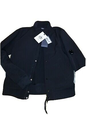 Cp Company Shell Bomber Jacket Black (XL)(52) Worn Once Fits Like A Large • 68.99£