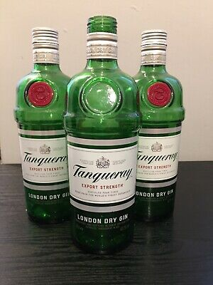 Tanqueray No 10 Gin Bottle X3. Empty Gin Bottles. Arts & Crafts, Upcycling Etc. • 3.99£
