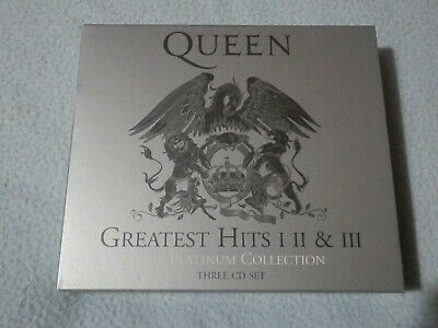 Queen - Greatest Hits The Platinum Collection, Vol. 1-3 CD Box Set (New) • 2.20£