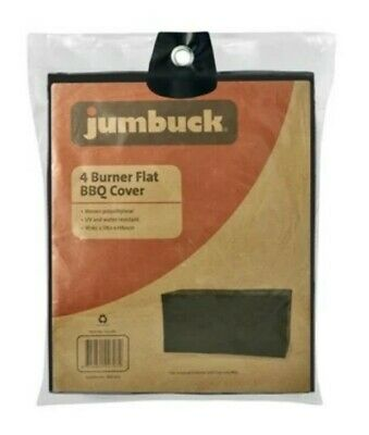 AU49.99 • Buy Jumbuck 4 Burner BBQ Cover - 4 Burner FLAT TOP Barbecue UV Protector GRILL SAVE