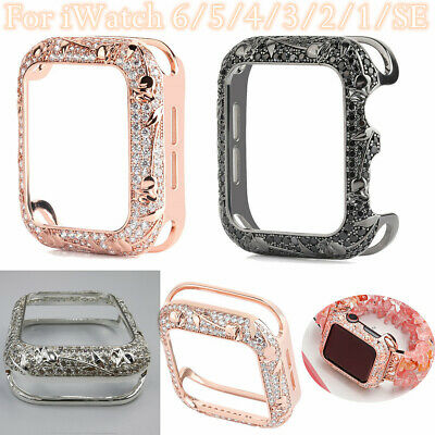 $ CDN22.82 • Buy Tulip Flower Watch Case Cover Accessories For Apple Watch Series 6 5 4 3 2 1 SE
