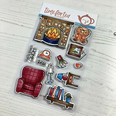 New Time For Tea Designs Clear Stamps Home Sweet Home   • 14£