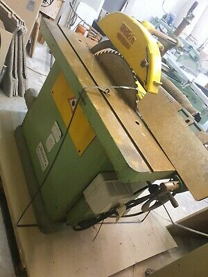 Wadkin 20BSW Rip Saw Braked In Good Condition Well Maintained. Blade Included • 999£