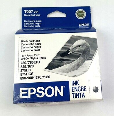 T007201 New Genuine Epson T007 201 Black Ink Cartridge Expired • 9.85£