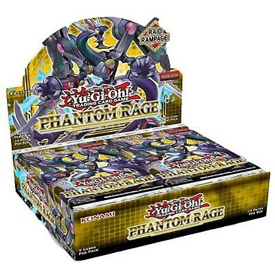 Yugioh Phantom Rage Booster Box / Case 1st Edition (24 Count) Pre-Order 05/11/20 • 58.99£