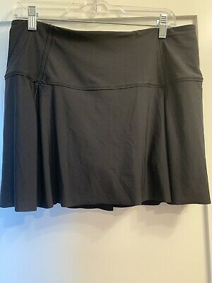 $ CDN74.85 • Buy Lululemon Lost In Pace Skirt Tennis Skort Size 10 Black