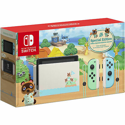 $ CDN400 • Buy Nintendo Switch Console Animal Crossing: New Horizons Special Edition - 32GB.