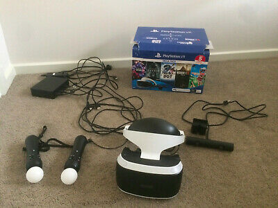 AU280 • Buy Ps4 Vr Bundle With Move Contollers. Excellent Condition. Hardly Used