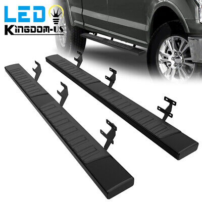 $137.19 • Buy For 15-21 Ford F-150 Super Crew Cab 6  Running Boards Side Steps Nerf Bars Pair