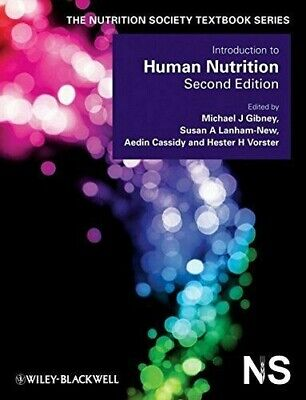 £50 • Buy Introduction To Human Nutrition 2nd Edition, The Nutrition Society Textbook