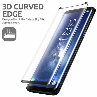 $ CDN3.99 • Buy For Samsung S8 Plus S8 Note 8 Full Cover Curved Tempered Glass Screen Protector