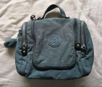 £24.99 • Buy Kipling Women's Blue Hanging Toiletry Bag Used Condition