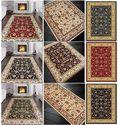 £34.95 • Buy Traditional Elegant Quality Rug Heritage Soft Thick Rugs Runner Carpet Mat Cheap