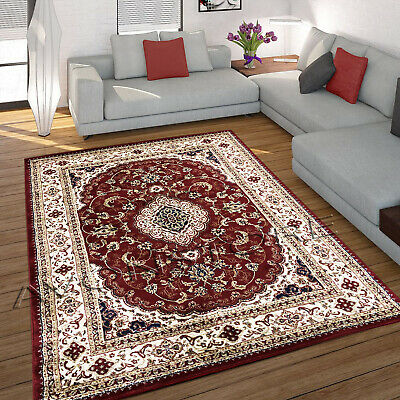 £29.95 • Buy Excellent Non Slip Heritage Red Traditional Rug Runner Red Cheap Rugs Carpet Mat
