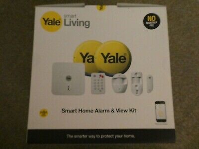 YALE Smart Living Wireless / WIFI SR-330 Smart Phone Control And View Alarm BNIB • 278.99£