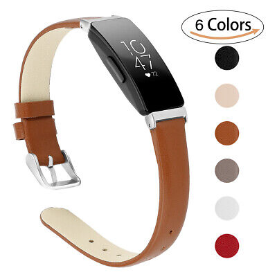 £7.34 • Buy Wristband Watch Band Strap Leather Replacement For Fitbit Inspire 2/Inspire HR