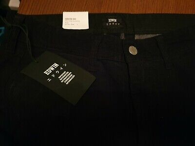 Edwin ED55 Cord Chinos Black W29 L30 BNWT Mens Jeans Japanese • 39.99£
