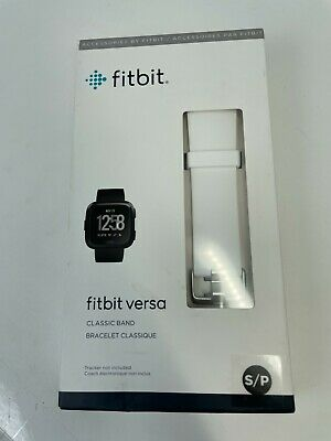 $ CDN16.48 • Buy Fitbit FB166ABWTS Small Classic Band Strap White For Fitbit Versa Authentic NEW