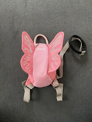 LittleLife Butterfly Toddler Backpack With Rein • 9.50£