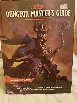 AU23 • Buy Dungeons And Dragons Dungeon Masters Guide 5th Edition