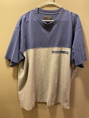 $ CDN5.59 • Buy Vintage Abercrombie And Fitch Shirt Mens XL Blue Gray Distressed 90s
