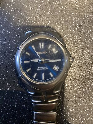 Seiko- Kinetic-Auto Relay Watch- Spares Or Repair. • 20£