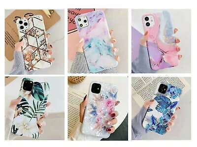 AU13.98 • Buy F IPhone 12 Pro Max Mini Luxury Shockproof Leave Flowers Marble Cute Cover Case