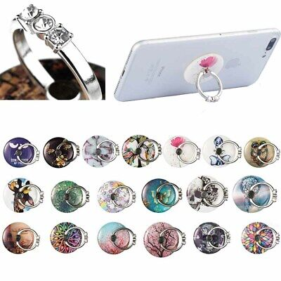 Case Cover Tablet Ipad 360 Rotating Stand Finger Grip Cute Ring Holder For Phone • 4.79£