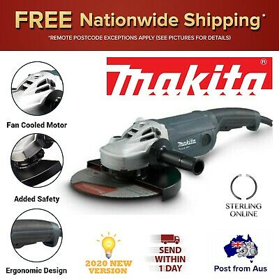 AU190.31 • Buy Makita 9  Angle Grinder 230mm 9 Inch Powerful 2000W MT Series Switch Trigger