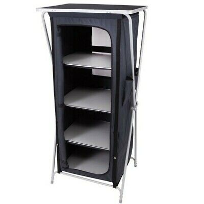 Via Mondo Storage Cupboard Unit Tall - Folding Camping Student Storage With Bag • 67.99£