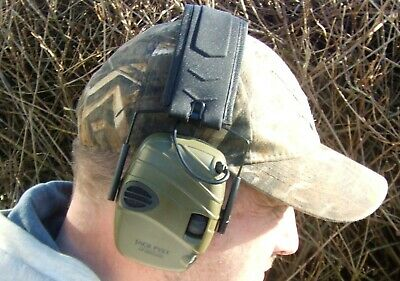 Electronic Green Hunting Clay & Game Shooting Hearing Protection Ear Defenders • 59.95£