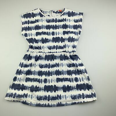 AU12.95 • Buy Girls Size 4, John Lewis, Tie Dyed Stretchy Casual Dress, GUC
