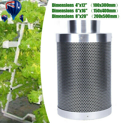 AU98.06 • Buy Planting 4  6  Inch Carbon Filter Odor Control For Fan Grow Tent Hydroponics