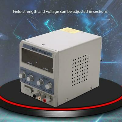 2-5A Adjustable DC Bench Power Supply  Variable Digital • 37.99£