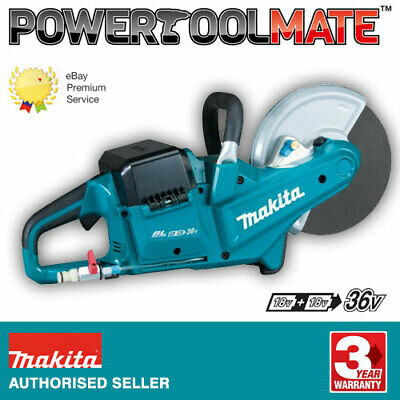 £393.99 • Buy Makita DCE090ZX1 Twin 18v / 36v 9  Cordless Brushless Disc Cutter Saw - Bare