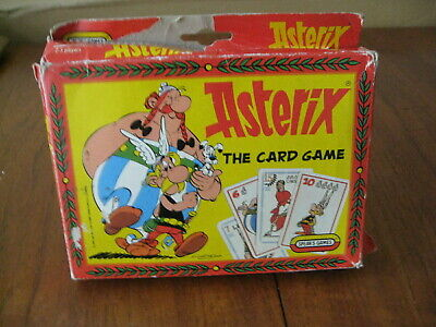 Asterix. The Card Game. 1990 Vintage By Spears Games • 11.50£