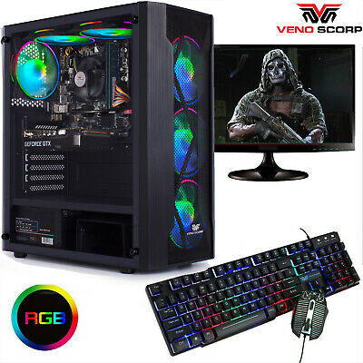Fast Gaming PC Bundle CHEAP I3 I5 I7  2TB 16GB RAM GTX 1660 Windows 10 NEW 6FAN • 299.99£