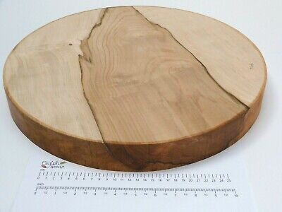Huge English Sycamore Woodturning Or Carving Bowl Blank.  430 X 50mm.  4916 • 68.95£