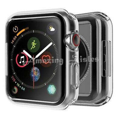 $ CDN4.11 • Buy IWatch Screen Protector Case Cover Apple Watch Series 4/5/6 Fits All Models