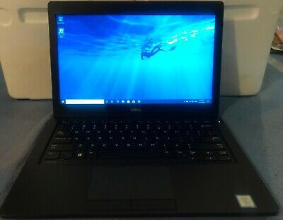 AU599 • Buy Dell Latitude 5280 12.5  Laptop Intel I5 7300U 2.6Ghz 16G 256G SSD W10 2 Avail