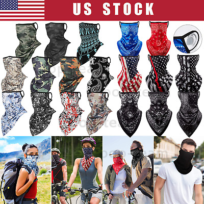 $9.99 • Buy Face Mask Bandana Balaclava Cover Reusable Washable Scarf Neck Gaiter Breathable