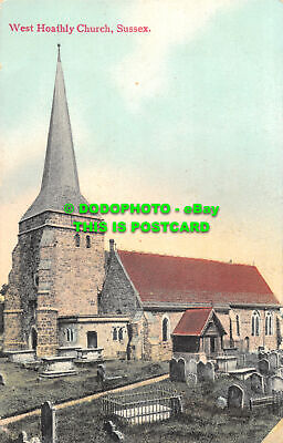 R475773 West Hoathly Church. Sussex. A. H. Homewoods Series Burgess Hill • 7.99£