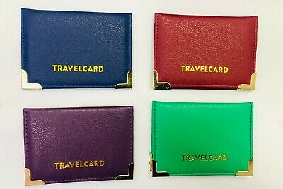 £2.25 • Buy 2 Pcs Genuine Oyster Travel Card Bus Pass Rail Card Holder Wallet Cover Case UK