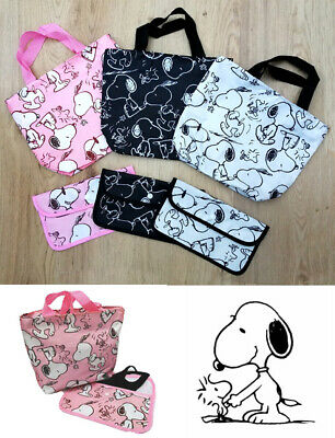 £7.50 • Buy Snoopy Small Shopper/Travel/Lunch Bag + Face Mask Holder Set Student Xmas Gift