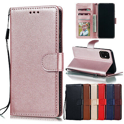 AU9.99 • Buy Luxury Flip Wallet Case Cover For Samsung Galaxy S7 Edge S8 S9 S10 S20 Plus Note