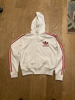 Adidas Hooded Track Top Size Medium.(557a) • 12.99£