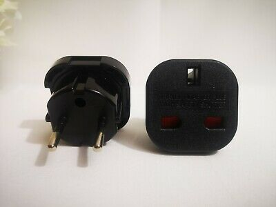 Electric Socket Adapter From European To UK. Travel Adapter. • 6.99£