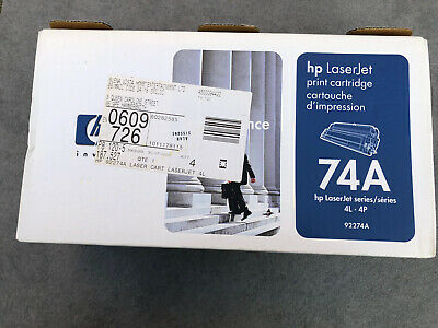 HP 74A Print Cartridge - For HP LaserJet 4L 4P Free UK Delivery • 17.89£